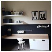 Durcheinander Zimmer, Spielzimmer, Spielzeug Lagerung, Ikea #TwoKidBedroomIdeas – Kinderzimme…