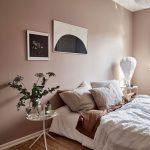 Dusty pink bedroom walls - COCO LAPINE DESIGN