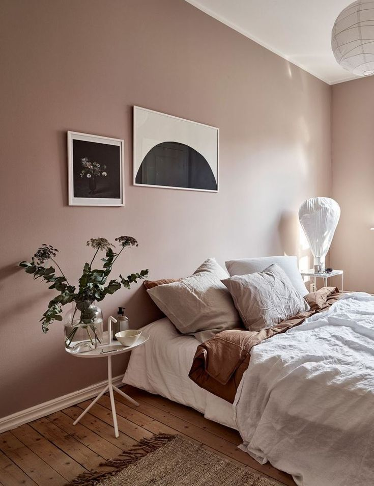 Dusty pink bedroom walls – COCO LAPINE DESIGN