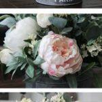 ECLECTiC ViBES Blumengesteck des rosa u. Weißen Bauernhauses#designinterior #de...