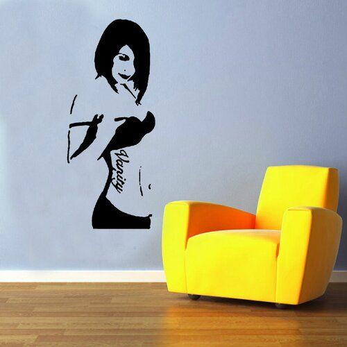 East Urban Home Banksy Vanity Decal Vinyl Wall Sticker | Wayfair.co.uk