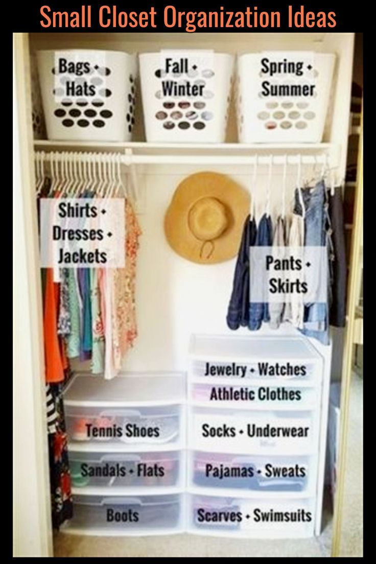 Easy DIY Closet Organizing System – Closet Organization on a Budget in 7 Simple Steps