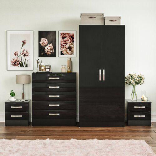 Ebern Designs Bicester 4 Piece Bedroom Set | Wayfair.co.uk