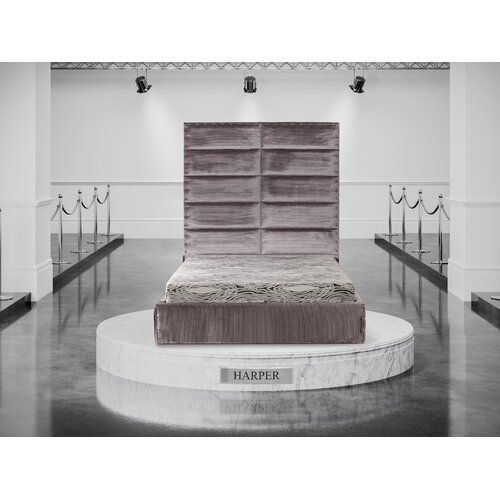 Ebern Designs Dover Upholstered Bed Frame | Wayfair.co.uk