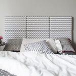 Ebern Designs Gepolstertes Kopfteil Zickzack | Wayfair.de