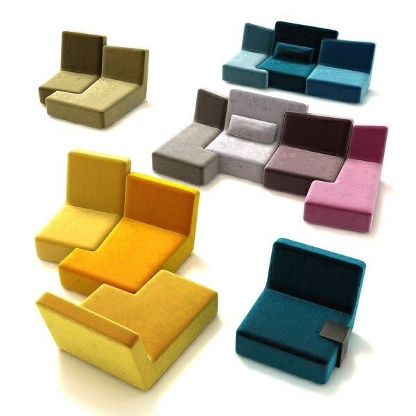 Ein Ligne Roset Sofa lässt Ihren Wohnraum fröhlicher erscheinen