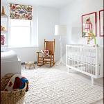 Ein moderner Kindergarten der wei  und warm ist  Nursery Decor Name Signs 038 Pe...