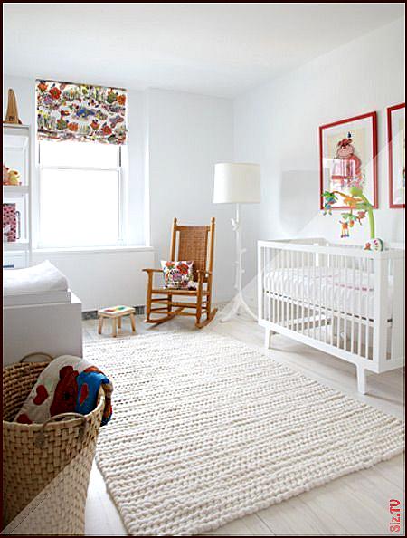 Ein moderner Kindergarten der wei  und warm ist  Nursery Decor Name Signs 038 Pe…