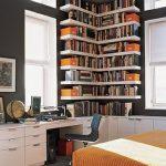 Ein modernes Eckregal für Ihre Wohnung! - Archzine.net