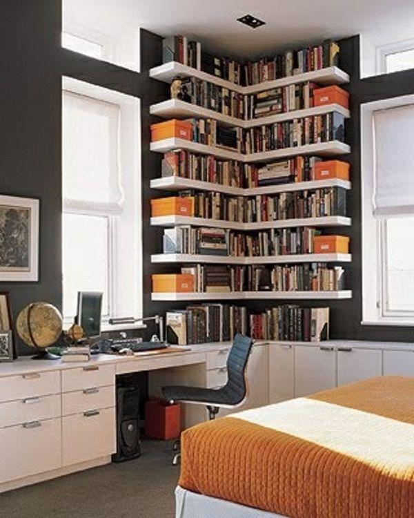 Ein modernes Eckregal für Ihre Wohnung! – Archzine.net