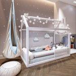 Ein schönes ruhiges Schlafzimmer im Montessori-Stil #Montessori #MontessoriBedroom #Kinderbett #Kinderzimmer #Kinderzimmer #CozyBed - https://pickndecor.com/interior