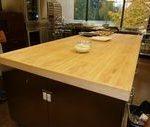Eine Metzger-Block-Tabellen-Insel kann die Schönheit Ihrer Küche erhöhen#hair...