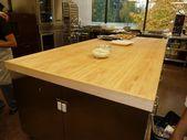 Eine Metzger-Block-Tabellen-Insel kann die Schönheit Ihrer Küche erhöhen#hair…