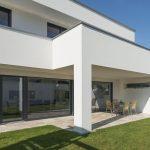 #Einfamilienhaus #Flachdach #Überdachte Terrasse #Massivbau # modern # design# ...
