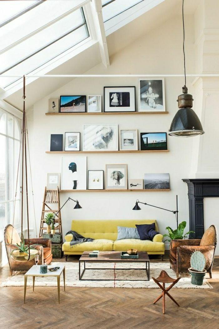 Einrichtungsideen fürs Wohnzimmer in 45 Fotos – Archzine.net