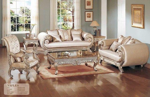 Elegant Klassische Wohnzimmer Möbel Traditionelle Wohnzimmer Möbel #Wohnzimmer…