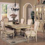 Elegante   Esszimmer-Ideen Antik Weiß Esszimmer Set | Esszimmer