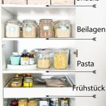 Endlich Ordnung in der Küche - Vorratsschrank aufräumen - Küchenschränke org...