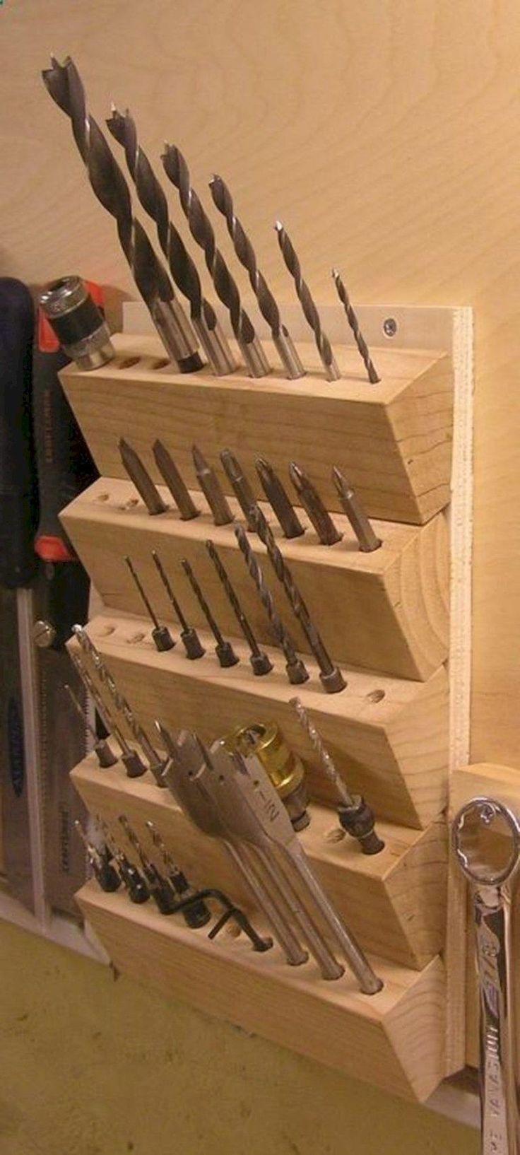 Erstaunliche Ideen zur Lagerung et Organisation von Garagen 01 #erstaunliche # … – Wood Design
