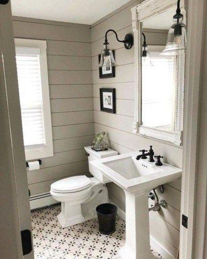 Erstaunliches Bauernhaus-Badezimmer-Dekor für kleinen Raum 08   – Farmhouse pro…