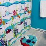 Erstaunliches Leben in den Seeschlafzimmervorhängen    Schlafzimmer Designs