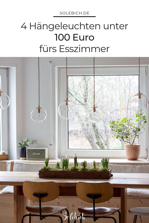 Es werde Licht: 4 Hängeleuchten unter 100 Euro fürs Esszimmer