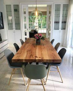 Esstisch Esszimmer Massivholztisch Tisch nach Maß Eichentisch   Holzwerk-Hambur