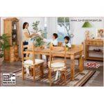 Esstisch im Landhausstil, original mexikanische Möbel, Massivholz 1a direktimpo...