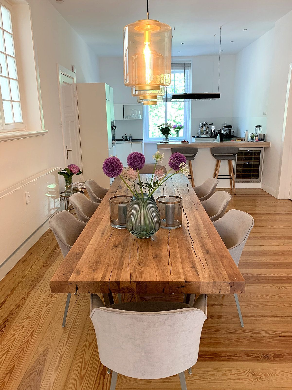 Esstische aus Eichenholz-Altholz von Holwerk-Hamburg #küchetisch Esstische aus …