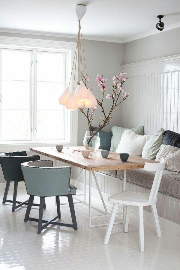 Esszimmertische für ein modernes Esszimmerambiente – frische Ideen