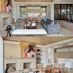 Example of a huge minimalist open concept light wood floor living room design in...,  #concep...