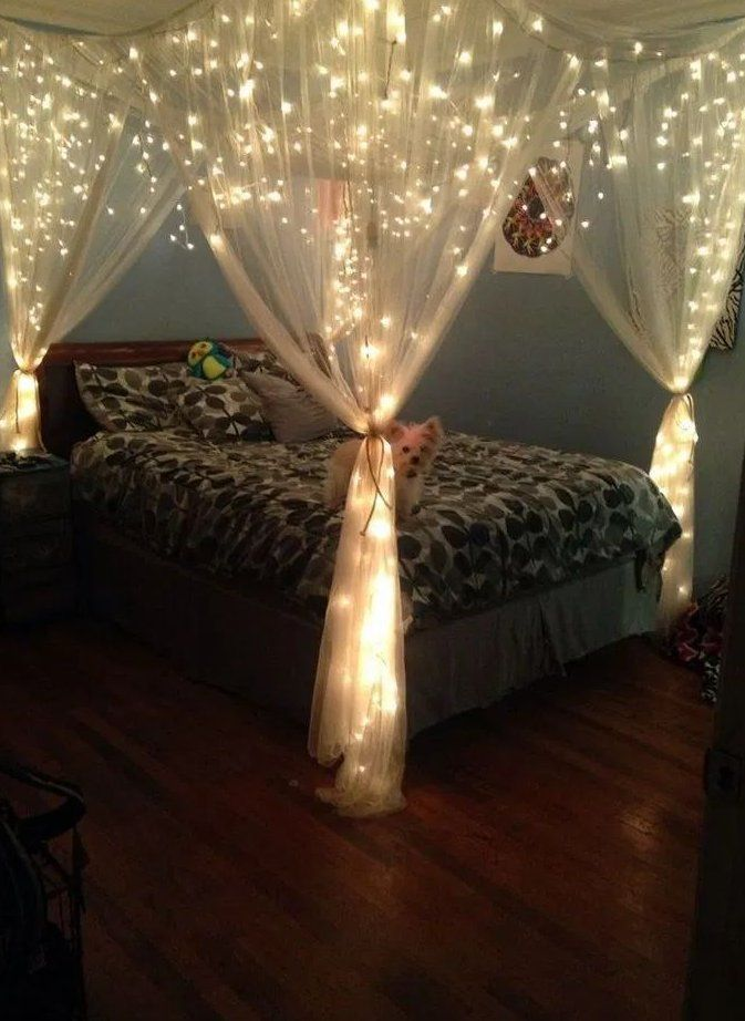 Fantastic Led String Lights Decor Girls Bedroom – Page Homemytri * fantastische …