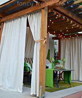 Fantastische Outdoor Vorhänge Für die Terrasse die Erhöht Die Schönheit Ihre…
