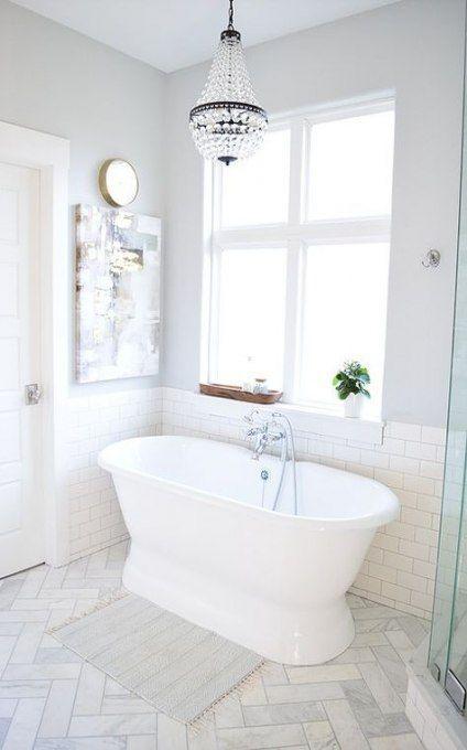 Farmhouse Bathroom Floor Tile Benjamin Moore 21+ Ideas #farmhouse #bathroomtile