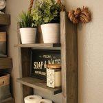Ferme meubles salle de bains étagère rangement, étagère de rangement échelle, moderne bois et corde Decor, meuble, armoire à pharmacie de la cabine