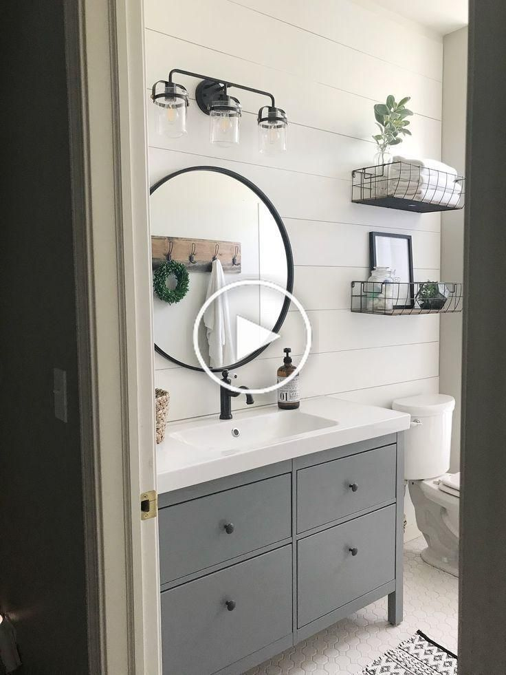 Ferme style Salle de bains Makeover