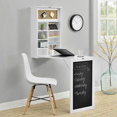 Finden Sie Top-Angebote für Wandtisch Weiß Schreibtisch Tisch Regal Wand Klapp…