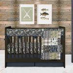 Fishing Crib Bedding Set for Baby Boy Nursery, Woodland Outdoor Gone Fishing Nursery Theme