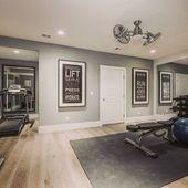 Fitnessstudio zu Hause #Home 21 Die besten Ideen für Fitnessstudios #Keller #Garage #Outdoor …
