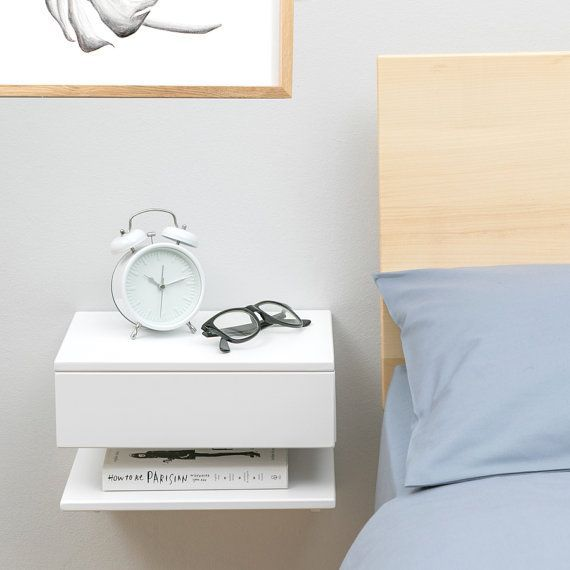 Floating Bedside Table – Painting Ideas