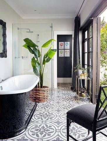 Floor Tile Ideas For Your Kitchen Or Bathroom   Domino