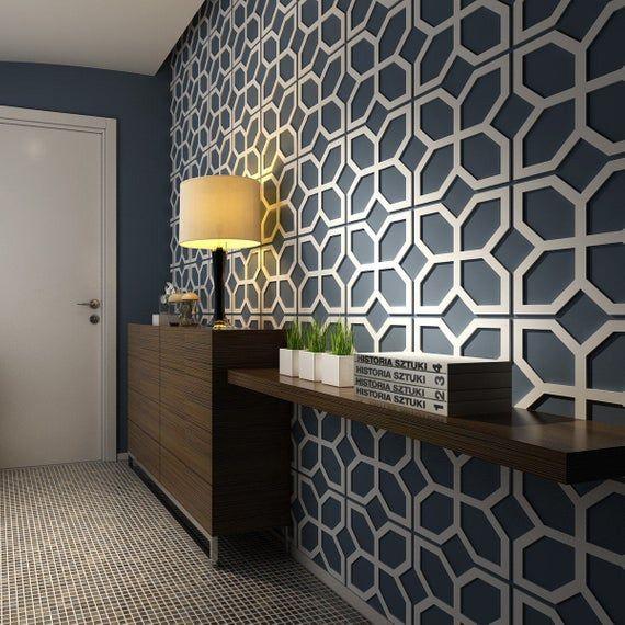 Flowers – 3D Wall Panels – Panele 3D – Wall Paneling – Decorative Wall Panels – Mid Century Modern – Wall Panels – Paneling – SKU:FLMI3DP