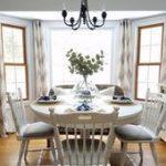 Formelles Wohnzimmer mit kleinem Budget  50 minimalistische kleine Esszimmerdeko...