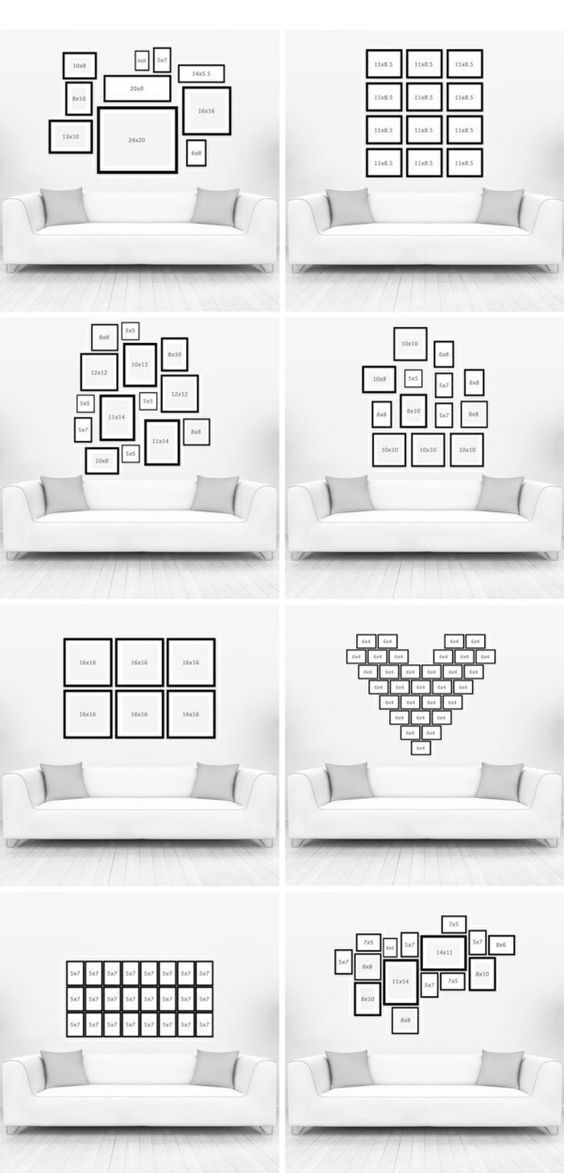 Frame wall and television – Blog Deco