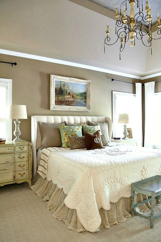 French Country Master Bedroom Refresh