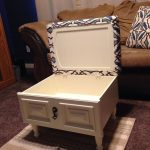 From Drawer and Cabinet Door to Storage Ottoman