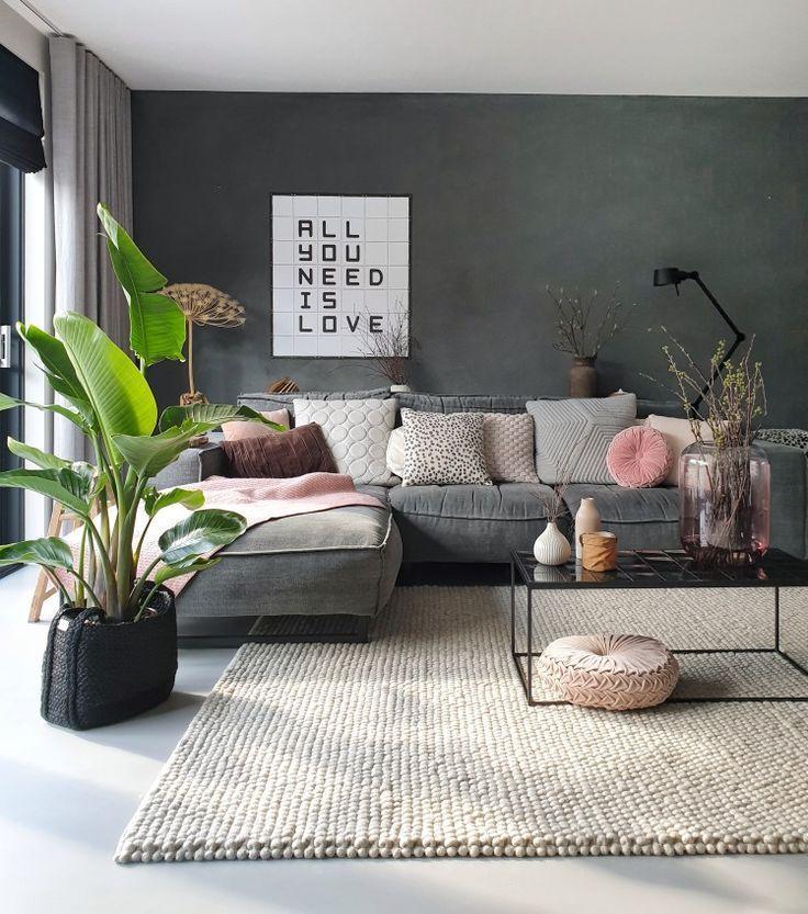 Frühling zu Hause – Wohnzimmer Dekoration