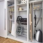 Furniture in the utility room: organizing system in the cupboard – Image 5