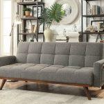 Furniture of America Nettie Gray Futon Sofa