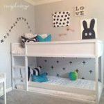 Ganz weißer IKEA Kura für ein graues Kinderzimmer,  #ein #für #ganz #graues #IKEA #Kinderzimm...